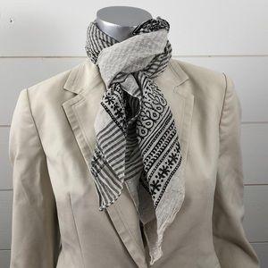 Chelsey by Joseph flower stripe scarf India